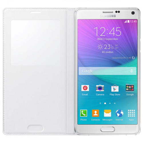 wholesale dealer 3bc02 5cf70 Samsung GALAXY Note 4 S View Flip Cover
