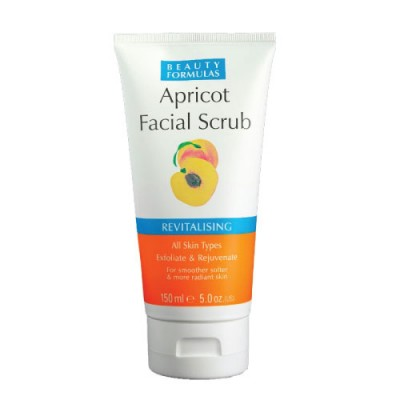 Beauty Formulas Apricot Facial Scrub 150ml
