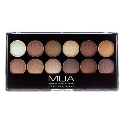 MUA 12 Shade Eyeshadow Palette-Heaven & Earth