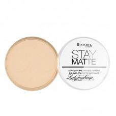Rimmel stay matte pressed powder Transparent