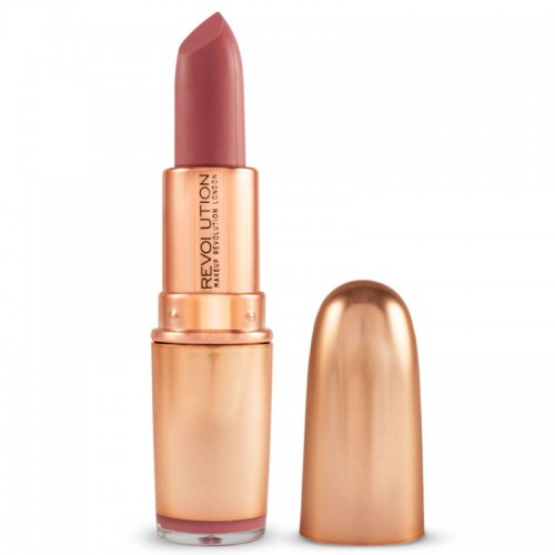 Makeup Revolution Iconic Matte Nude Lipstick - Lust