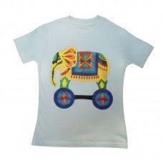Boy Cotton T-shirt Half Sleeve SER-K01(F)