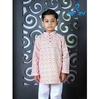 Kids Long Panjabi Payjama Set