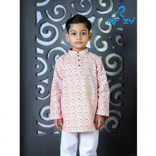Kids Long Panjabi Payjama Set
