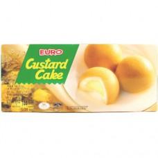 Euro Custard/Strawberry Cake