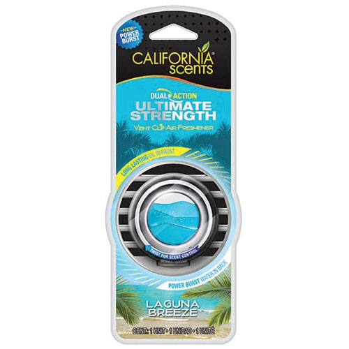California Scents Dual Action Vent Clip Air Freshener