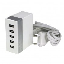 Remax 5 Ports USB Charger(MAX OUTPUT 2.4A)
