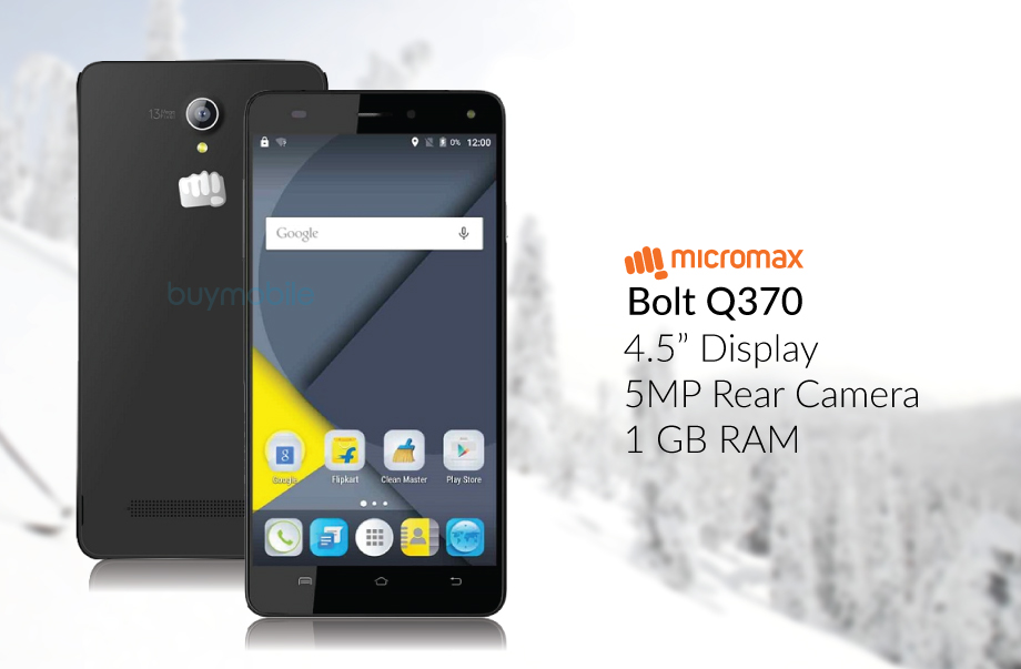 Micromax BOLT Q370